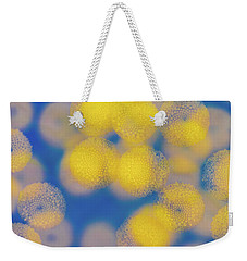 Weekender Tote Bag featuring the photograph Natural Lights by Ari Salmela