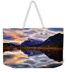Natural Mirror Weekender Tote Bag by Nicki Frates