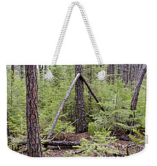 Natural Peace In The Woods Weekender Tote Bag