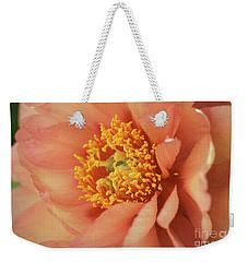 Natural Peach Beauty Weekender Tote Bag