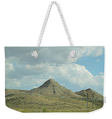 Natural Pyramid Weekender Tote Bag