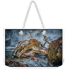 Natural Weekender Tote Bag