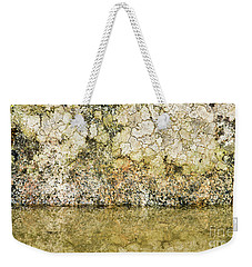 Weekender Tote Bag featuring the photograph Natural Stone Background by Torbjorn Swenelius