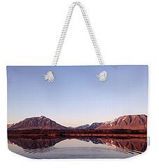 Natural Symmetry Weekender Tote Bag by Happy Home Artistry
