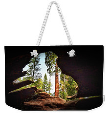 Natural Window Weekender Tote Bag