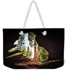 Natural Window Weekender Tote Bag