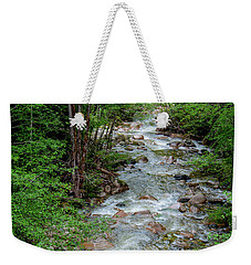 Naturally Pure Stream Backroad Discovery Weekender Tote Bag