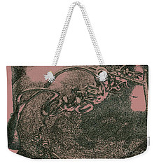 Weekender Tote Bag featuring the photograph Nature Art by Kim Henderson