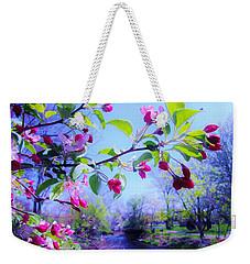 Nature Awakening Weekender Tote Bag