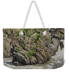 Nature Blooming From The Rocks Weekender Tote Bag