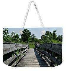 Nature Bridge Weekender Tote Bag