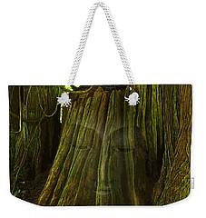 Nature Buddha Weekender Tote Bag