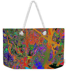 Nature Colorfication Glow 13 Weekender Tote Bag
