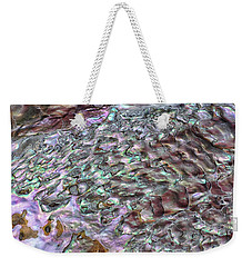Weekender Tote Bag featuring the photograph Nature Designs by Kathi Mirto