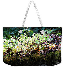 Nature Finds A Way Weekender Tote Bag by Rebecca Davis
