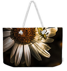 Nature Fine Art Summer Flower With Insect Weekender Tote Bag