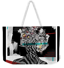 Weekender Tote Bag featuring the digital art Nature Is God by Nola Lee Kelsey