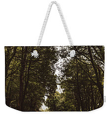 Weekender Tote Bag featuring the photograph Nature Landscape Photo Of A Scenic Mountain Road by Jorgo Photography - Wall Art Gallery