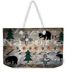 Nature Love Hope Joy Weekender Tote Bag