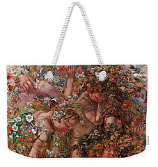 Nature Or Abundance Weekender Tote Bag