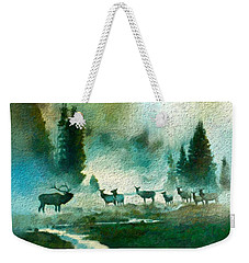 Nature Scene Weekender Tote Bag