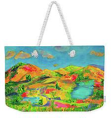 Nature Speaks Weekender Tote Bag