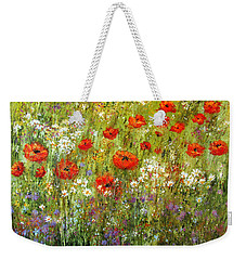 Nature Walk Weekender Tote Bag by Valerie Travers