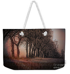 Nature Winter Bare Trees Color  Weekender Tote Bag