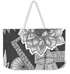 Naturemade And Manmade Shapes Weekender Tote Bag