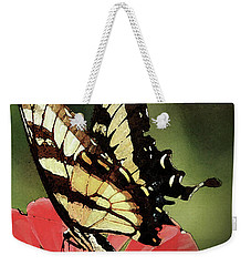 Weekender Tote Bag featuring the digital art Nature's Beauty by Kim Henderson
