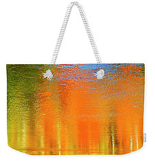 Weekender Tote Bag featuring the photograph Nature's Canvas by Gary Hall