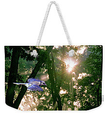 Weekender Tote Bag featuring the photograph Nature's Cathedral by Marie Hicks