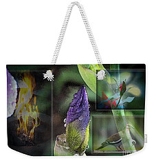 Natures Collage Weekender Tote Bag