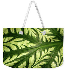 Nature's Design Weekender Tote Bag by Mariarosa Rockefeller