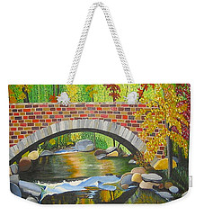 Natures Eye Weekender Tote Bag by Donna Blossom