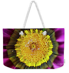 Weekender Tote Bag featuring the photograph Natures Eye by Wendy Wilton