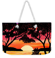 Nature's Gift - Ocean Sunset Weekender Tote Bag