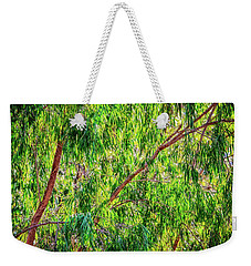 Weekender Tote Bag featuring the photograph Natures Greens, Yanchep National Park by Dave Catley
