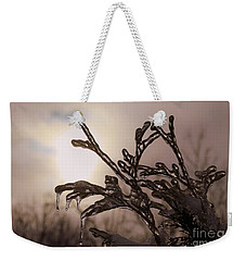 Natures  Ice Sculpture Weekender Tote Bag