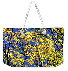 Weekender Tote Bag featuring the photograph Natures Magic - Original by Rebecca Harman