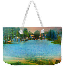 Nature's Magical Sunsets Weekender Tote Bag by Judy Palkimas