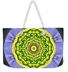 Nature's Mix #1 Weekender Tote Bag by Hazy Apple