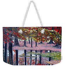 Natures Painting Weekender Tote Bag