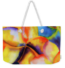 Nature's Pinwheels Weekender Tote Bag