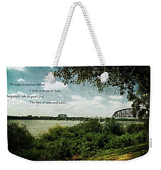 Natures Poetry Weekender Tote Bag