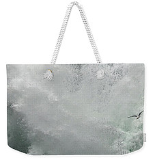 Weekender Tote Bag featuring the photograph Nature's Power by Peggy Hughes