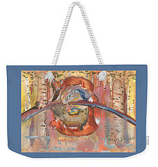 Nature's Reflection Weekender Tote Bag