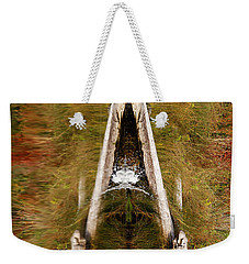 Weekender Tote Bag featuring the photograph Natures Reflection by Sue Harper