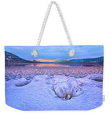 Weekender Tote Bag featuring the photograph Nature's Sculpture by John Poon