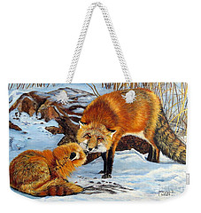 Natures Submission Weekender Tote Bag